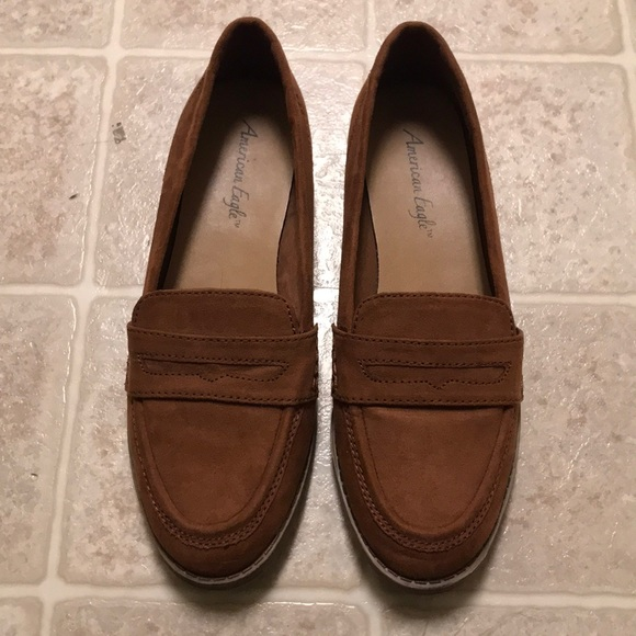 23c1c0e5830 American Eagle By Payless Shoes - Faux Suede Loafers